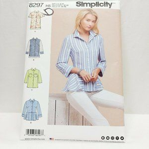 Simplicity 8297 H5 Size 6-14 US Sewing Pattern Shi